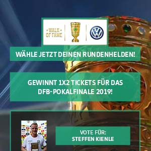 Best Cases Sport1: DFB Pokal Walk of Fame - Beispiel Halfpage Ad